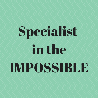 Specialist in the Impossible